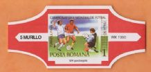1990 World Cup Cigar Band (Red)
